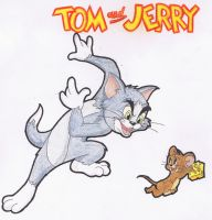 Tom and Jerry by chaixing