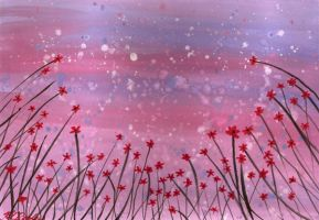 Spring Shower - Pink by klbailey