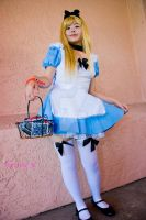 Alice blonde cute asian by MyCosPlayPhotos
