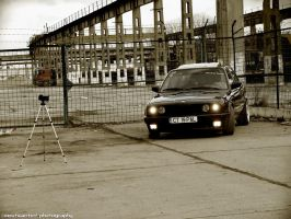 BMW E30 black by MWPHOTO