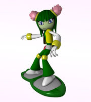 Cosmo In Sonic Riders I by Black-Arg