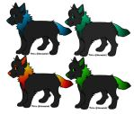 Elementary Wolves 3-5 points each!!!!! by Wyeth-Kitty