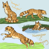 Honeypaw submissions by Wazilikie