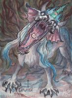 ACEO Snarl! by Sysirauta