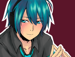 Mikuo colouring practise by dweebzilla