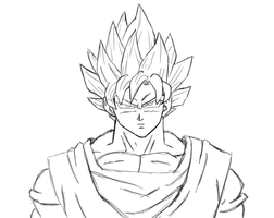 Goku by Jimbobads