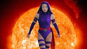 Yaya Han as Psylocke Wallpaper 16x9 by Ultraviolet-Oasis