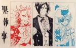 Black Butler Trio by dilaby