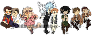 Style one chibi commissions batch 1 by aomaoe