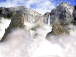 Sky Waterfall by Cr7NeTwOrK