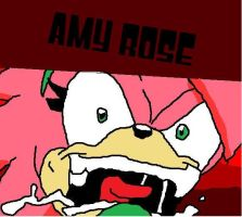 MAD AMY ROSE by sonicandshadowfan