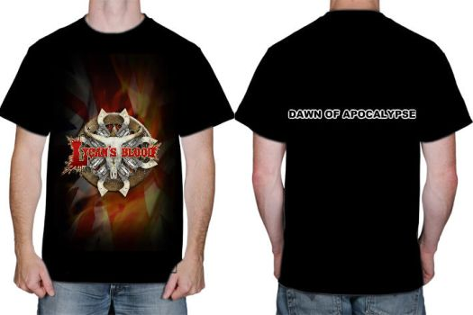 Lycans Blood Londons Burning T by Guitarguy42