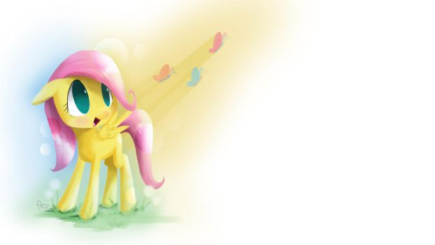 Filly Fluttershy by yiKOmega