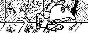Horrid Haunters Miiverse competition entry by ChozoBoy