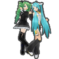 PDf RinChan now! + Dark Angel Miku .:Download:. by Palcario