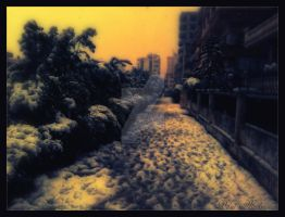 Snow-. by BaselMahmoud