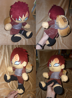Big Kazekage Gaara plush FIN by goiku
