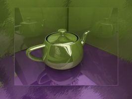 teapot vray by shahjee2