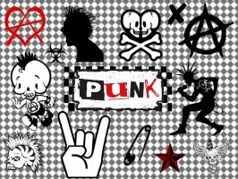 Punk Gimp Brushes by LaurenLovesTwilight