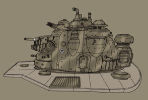 Turret by spacegoblin