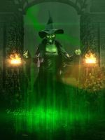 Wicked Witch of the West by SPRSPRsDigitalArt