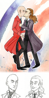 Jekyll and Hyde: Jekyll/Utterson sketches by Starlene