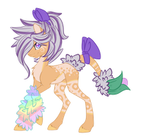 :Fluffbulb pony adopt: Set price (Closed) by AzrealRou