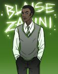 Blaise Zabini by EmpressFunk