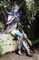 Diana dark valkyrie cosplay by Bahamut95