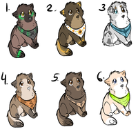 Custom Adopts - dogs by PointAdoptsforyou