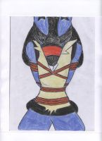 C: Lucario Tied Up Tight by sonic-the-cool-man
