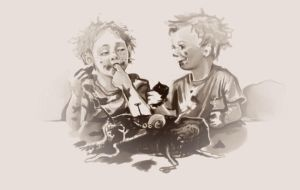 ickle Weasley twins sketch by Peregrinus5Floh