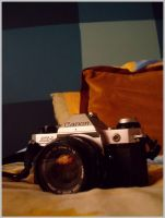 Canon AE-1 by zikex