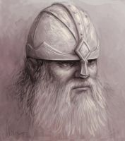 Dwarf Sketch by SHAWCJ