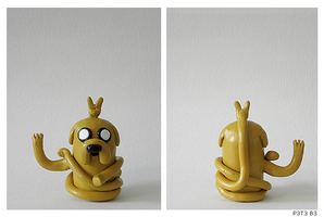 Jake the Sculpture by P3T3B3