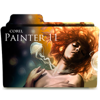 Corel Painter 11 Finder Folder by KJH1986