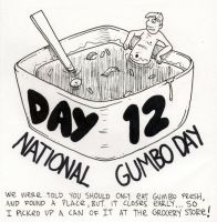 National Gumbo Day by YourFathersMustache