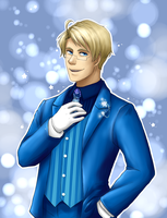 Beautiful World: Character CD- Alfred by VictoriaWings
