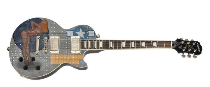 Les Paul Bomber by ChrisSummersArts