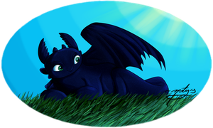 .:Toothless:. by natysPnF