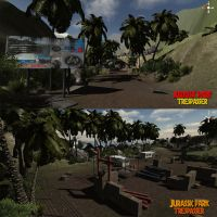 Jurassic park: Trespasser 3 by metonymic