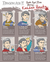 Hawke Ages meme - Kaedan by greifvogel