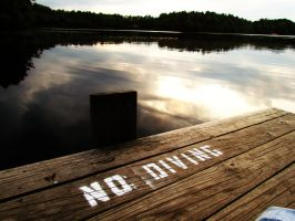 No Diving by ohhmanitsmissy