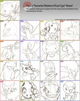 Pokemon Type Meme by CassedyDuel