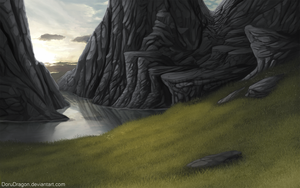 BG for the book by DoruDragon