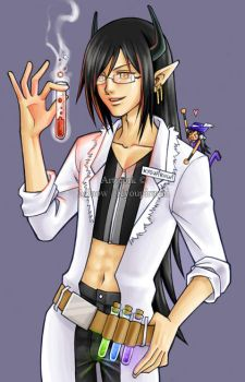 Scientist Kyou by miaow
