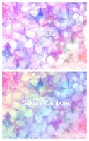 Sakura Wallpaper Pack by xlilbabydragonx