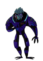Garrus by PsyDraws