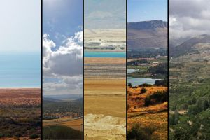 Five Regions of Israel by fourthwall