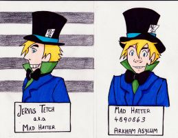 Mad Hatter - Mugshot by ChaosTheDawn